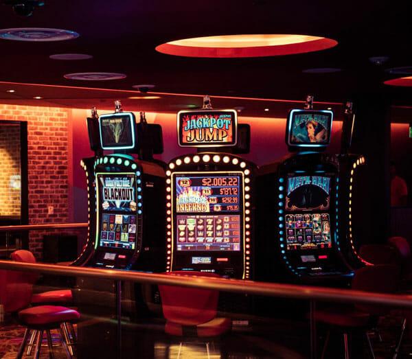 Jackpot Jump slot game at the Casino at Dania Beach