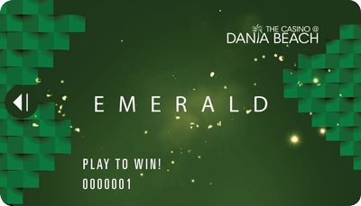 The Casino at Dania Beach Emerald players card